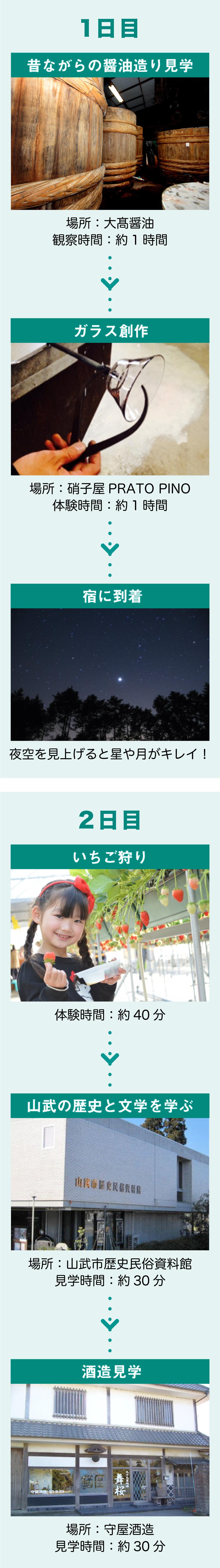 山武の物創り・あま〜い苺満喫コース(12〜5月)